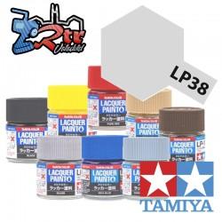 LP-38 Pintura Laca Aluminio Plano 10Ml Tamiya