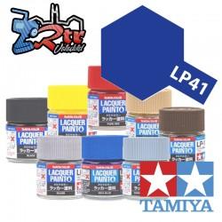 LP-41 Pintura Laca Mica Azul Brillante 10Ml Tamiya