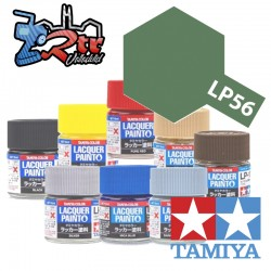 LP-56 Pintura Laca Verde Oscuro 2 Plano 10Ml Tamiya