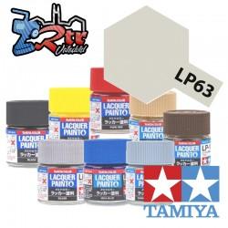 LP-63 Pintura Laca Plata Titanio Brillante 10Ml Tamiya