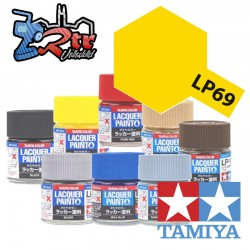 LP-69 Pintura Laca Amarillo Claro 10Ml Tamiya