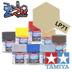 LP-71 Pintura Laca Oro Champán Brillante 10Ml Tamiya