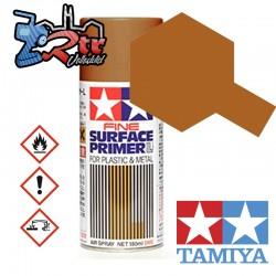 Spray Imprimación de superficie L Rojo Óxido Plásticos o Metal Tamiya