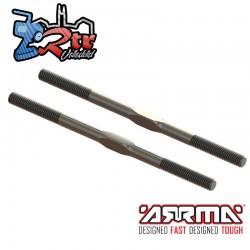 Tensor de acero, M5x89mm Plata EXB Arrma ARA330662