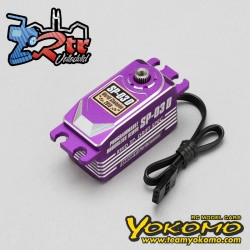 Servo Yokomo SP-03D Brushless Purpura programable (RWD Drift Spec/16.0kg/6.0V)