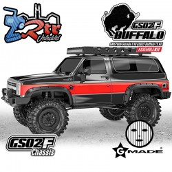 Gmade 1/10 GS02F Buffalo TS Crawler 4wd Kit de emsamblaje