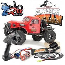 Ftx Outback Texan Crawler 1/10 4x4 RTR Rojo