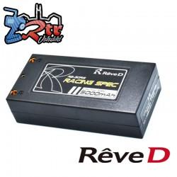 Lipo Reve D Shorty 5000mAh 7.4V 2S 200C/100C LiPo 4mm/216gr