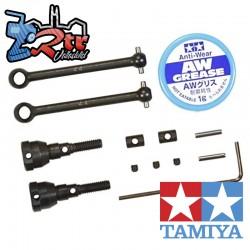 Eje universal de montaje Tamiya para CC-01 2 piezas 54608