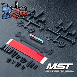 Juego de postes de carcasa de cuerpo magnético Stealth MST MST820141