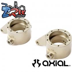 Juego de nudillos de dirección (aluminio) 2 piezas Yeti Jr. Can-Am Maverick AXI31622