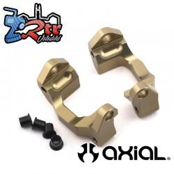 Portadores de nudillos de dirección (aluminio) 2 piezas Yeti Jr. Can-Am Maverick AXI31623