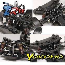 Mamparo delantero integral de aluminio YD-2 Yokomo Y2-302D