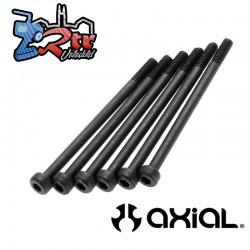 Tornillos Cabezal de tapa M2.6x40mm Negro (6) AXIC1492