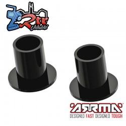 Tubo con bridas (2 unidades): 4x4 Arrma AR340138