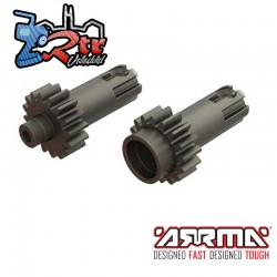 Impulsores de Salida del diferencial de Metal Arrma AR310775