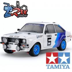 Tamiya Ford Escort Mk.II Rally Chasis MF-01X Carroceria Pintada 1/10 2Wd