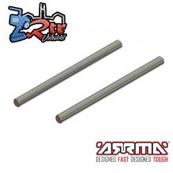 Pasador de bisagra 4x63mm 2 unidades Arrma AR330457