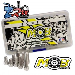 Kit de tornillos Inoxidable Traxxas E-Revo, Summit, Slash, Rally 1/16 Ministry Of Bearing