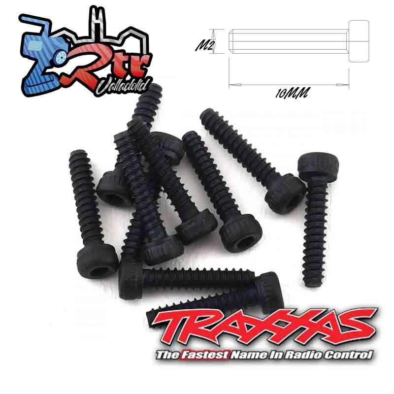 Tornillos 2x10mm hexagonales Traxxas TRA8167