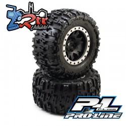 Ruedas Proline X-Maxx Trencher MX43 Pro-Loc All Terrain Tires 24m PR10151-13