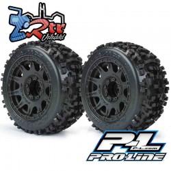 "Ruedas Proline 3.8""  Monster 1/8 Badlands 17mm PR1178-10"