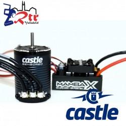 Castle Mamba X Crawler Edition Waterproft 25.2V 3800Kv Sensores Combo