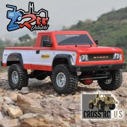 Cross RC PG4RS 1/10 4x4 Pick up Crawling Kit Carroceria Lexan