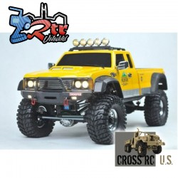 Cross RC PG4A 1/10 4x4 Pick up Crawling Kit Carrocería Rígida
