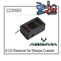 Receptor 6 Canales para Crawler Sherpa 1230683