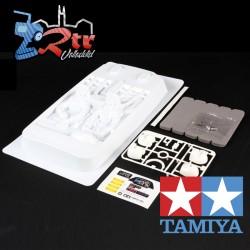 Tamiya 1/10 Rally Car Cockpit Blanco