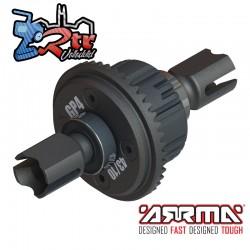 Conjunto de diferencial Delantero o trasero activo, GP4 5mm 10k EXB Arrma ARA310990
