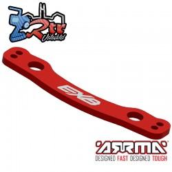 Cremallera de dirección CNC 7075 Aluminio, Rojo EXB Arrma ARA340174