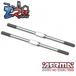 Tensor de acero, M4x95mm Unidades EXB Arrma ARA340175