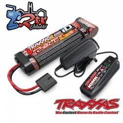 Power Cell Nimh 3000 mAh 8.4V 2/3A + Cargador Traxxas TRA2983G
