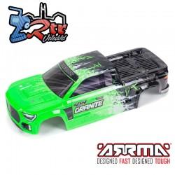 Carrocería Arrma Granite Verde/Negro ARA402305