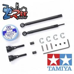 Conjunto de ejes universales de montaje frontal Tamiya CC-02 Tamiya 54984