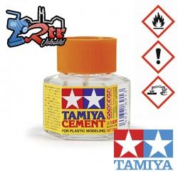 Cemento con pincel para plásticos Tamiya 20ml 87012