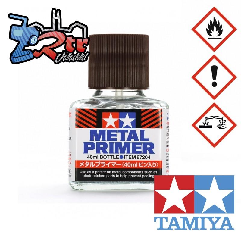 Imprimación para metal en botella 40ml Tamiya 87204