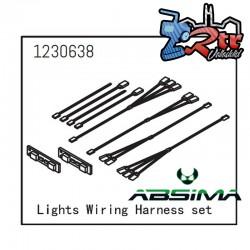Juego de Luces Leds con cableado Absima 1230638