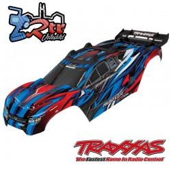 Carrocería Traxxas Rustler 4x4 Pintada  con soportes TRA6717A