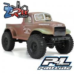 Carrocería 1946 Dodge Power Wagon Clear Body for SCX24 Proline