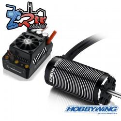 Combo Brushless Hobbywing Ezrun MAX5 SL 5687 Waterproft 200A Motor 1100Kv 1/5