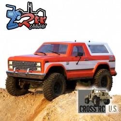 Cross RC AT4 EMO 1/10 4x4 Crawling versión RTR Anaranjado y Blanco