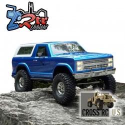 Cross RC AT4 EMO 1/10 4x4 Crawling versión RTR Azul y Blanco