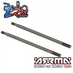 Eje de choque, 5x102 mm 2 Unidades Arrma ARA330574
