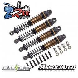 Juego de amortiguadores FT Enduro, 10x90 mm Asociated EL42078