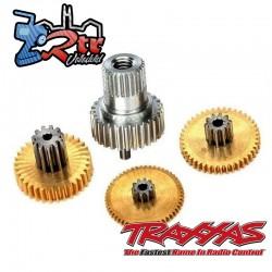 Kit de reparación de metal TRA2087X Para Servo TRA2085 Y TRA2085X X-MAXX