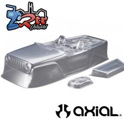 Carrocería Jeep® Wrangler Rock Racer transparente Axial AX04038