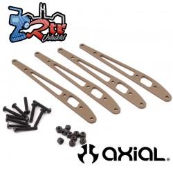 Placa de enlace inferior trasera 4 Piezas RBX10 Axial AXI334000